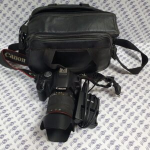 Aparat cyfrowy CANON 500D + obiektyw Sigma Zoom 18-200 mm